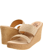 flair of an open-toe sandal with an earthy crocheted finish. Textile upper/textile and leather lining/synthetic sole. By Sbicca; imported. BP. Shoes