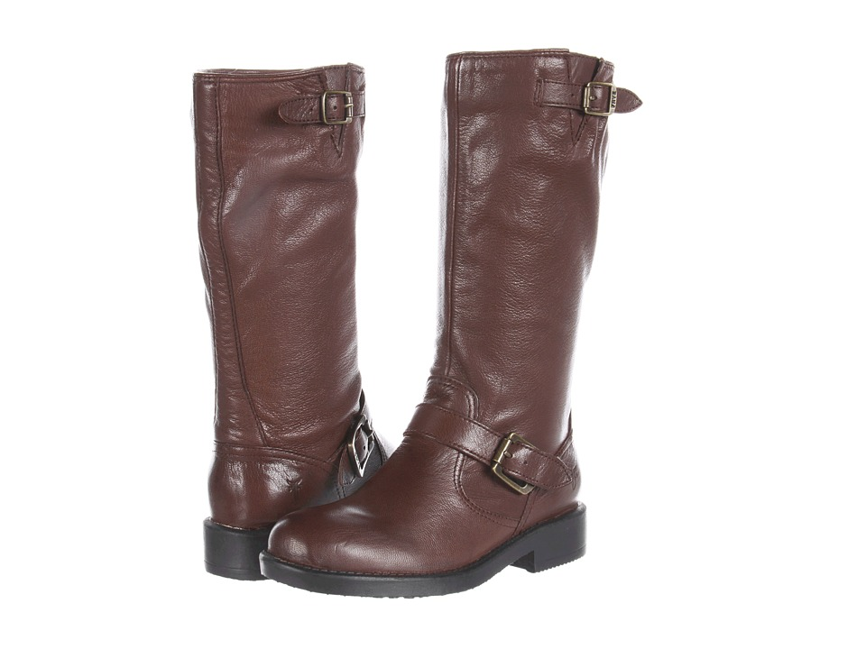 Frye Kids - Veronica Slouch (Little Kid/Big Kid) (Dark Brown) Girls Shoes