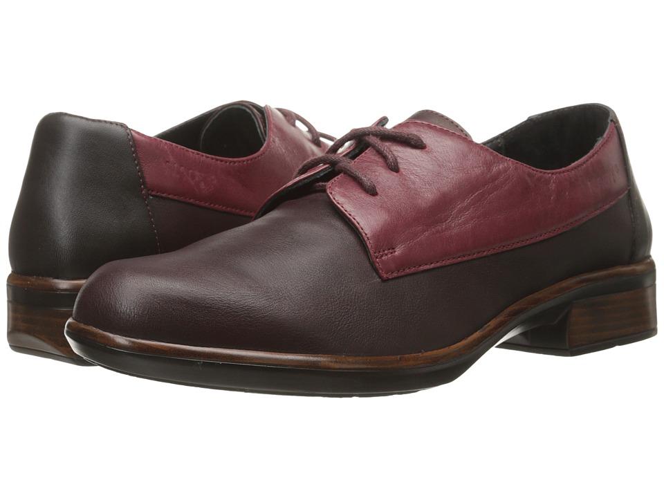 Naot Footwear - Kedma (Shiraz Leather/Rumba Leather/Merlot Leather) Women