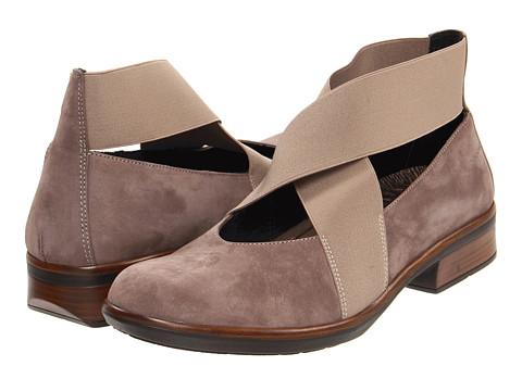 NAOT Brown Bronze Cork Wedge SANDALS Womens Size 6