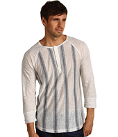 Joe's Jeans - Stripe Linen Jersey Kit 3/4 Sleeve Henley