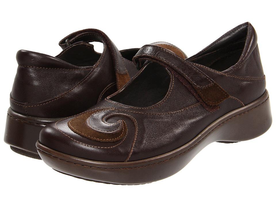 Naot Footwear Sea (Oak Leather/Hash Suede) Women's Shoes