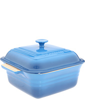 Le Creuset - 3 Qt. Square Stoneware Covered Casserole