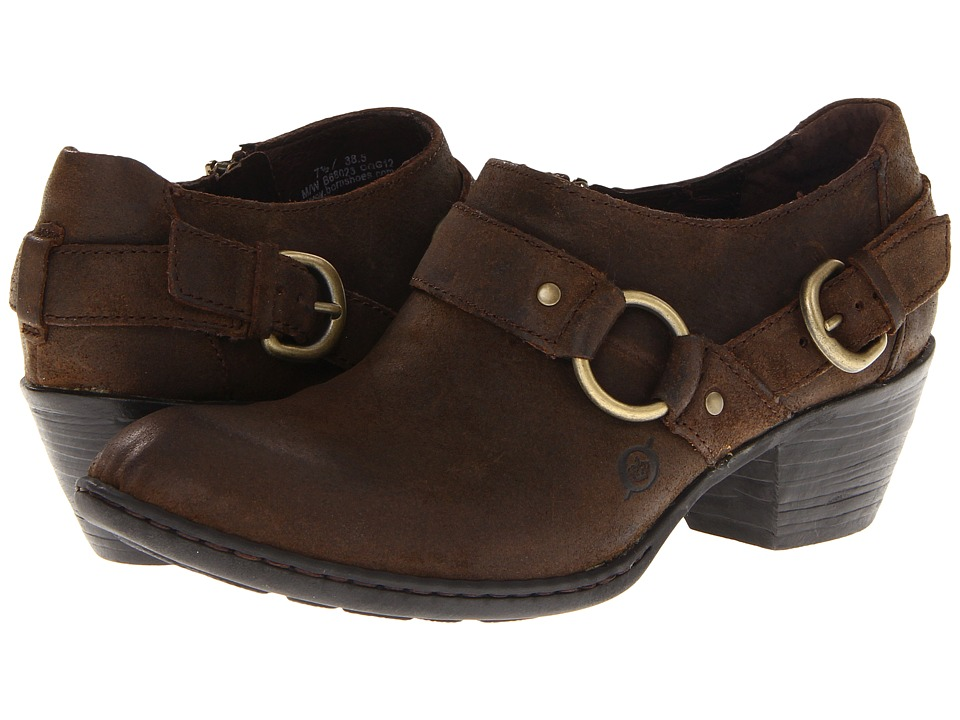 Born Zowy (Tobacco Suede) Women's Shoes