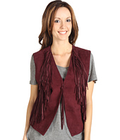 Scully - Ladies Soft Suede Fringe Vest