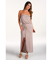 Halston Heritage - Mercerized Rayon Interlock Strapless Dress
