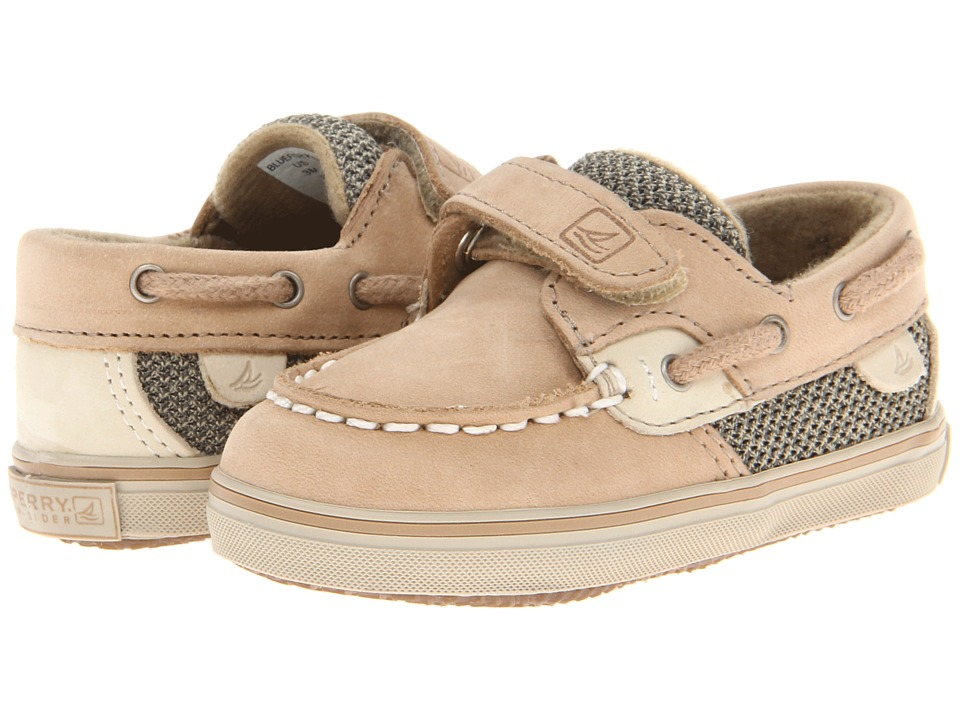 Sperry Kids Bluefish Crib HL (Infant/Toddler) (Linen/Oat Nubuck) Kids Shoes