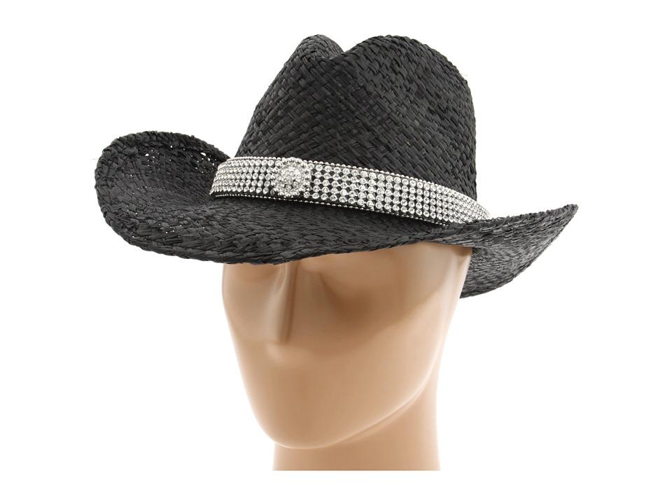 MampF Western 7105201 Black Cowboy Hats