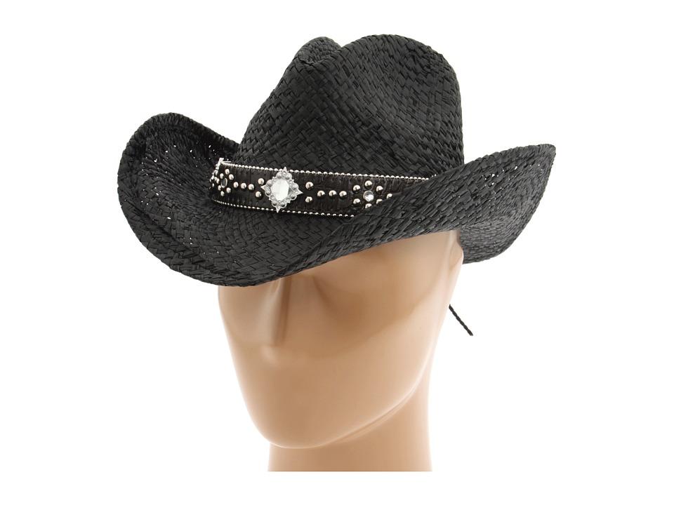 MampF Western 7105801 Black Cowboy Hats