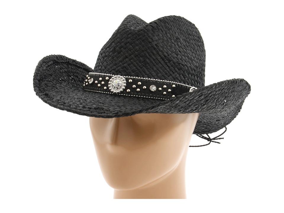 MampF Western 7105601 Black Cowboy Hats