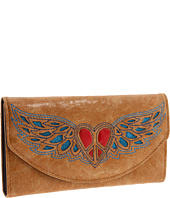 Nocona - Winged Peace Heart Wallet