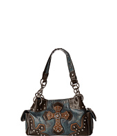 M&F Western - Texas Star With Cross Satchel