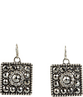 Nocona - Square Concho Earrings