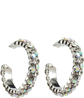 Nocona - Small Crystal Hoop Earrings