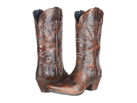 Ariat Heritage Western X-Toe - Sassy Brown
