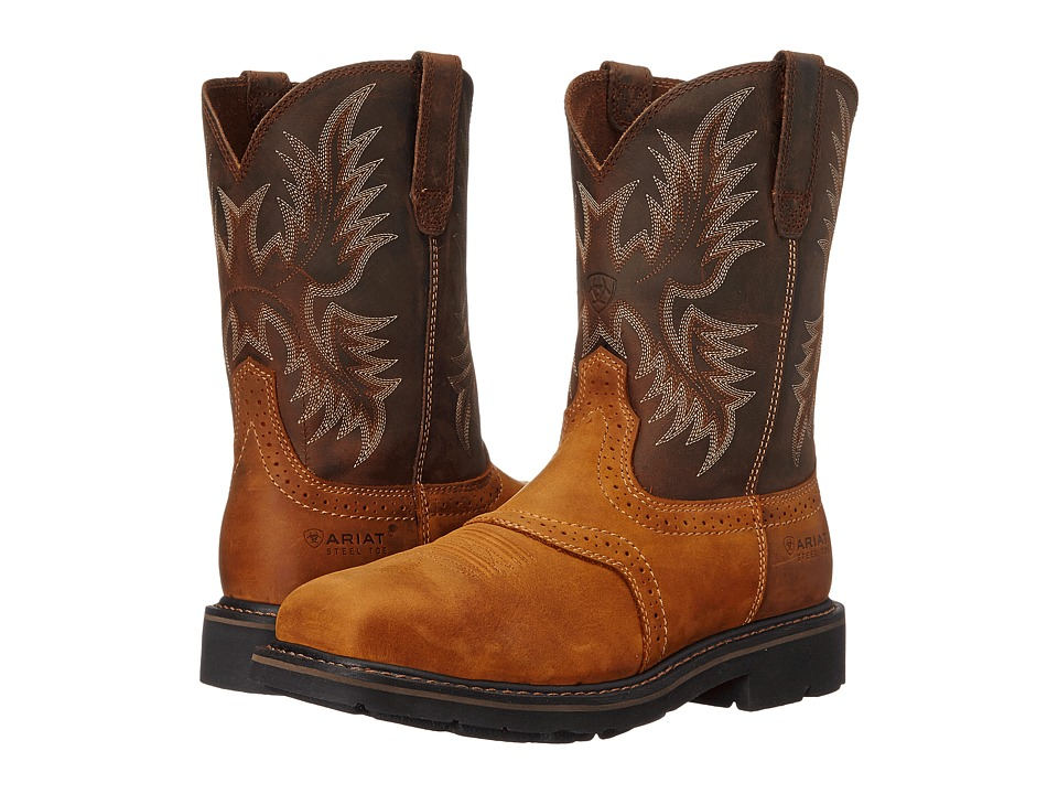 Ariat - Sierra Wide Square (Aged Bark) Cowboy Boots