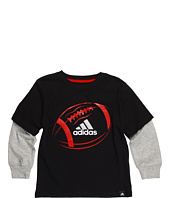 adidas Kids - X-Ray Football L/S Tee (Toddler/Little Kids)
