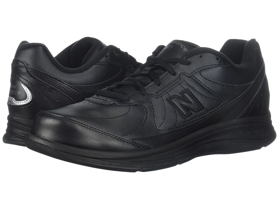 New Balance - MW577 (Black/Black) Mens Walking Shoes