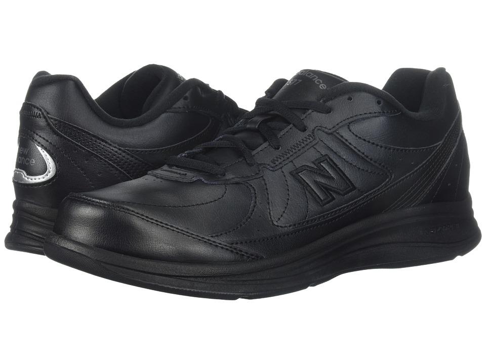 New Balance MW577 (Black/Black) Men's Walking Shoes