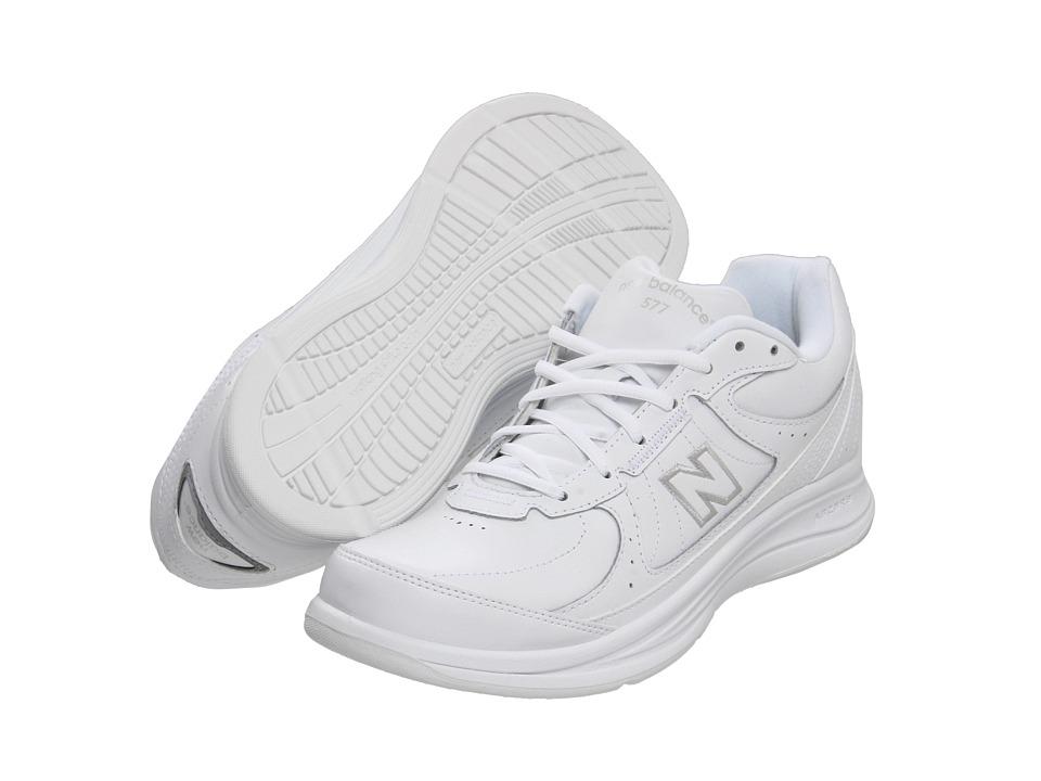 New Balance MW577 (White) Men's Walking Shoes