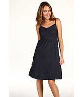 Calvin Klein Jeans Petite - Petite Eyelet Denim Dress in Blue