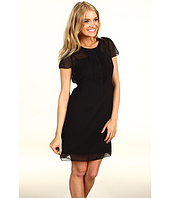 Kensie - Short Sleeve Chiffon Dress