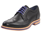Cole Haan - Cooper Square Wingtip (Black Grain) - Footwear