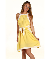 Kensie - Belted Crepe Dress