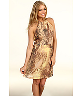 Kensie - Short Sleeve Snake Dress
