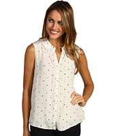 Kensie - Sleeveless Dots Blouse