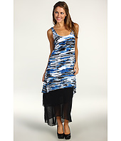 Kensie - Tiered Asymmetrical Maxi Dress