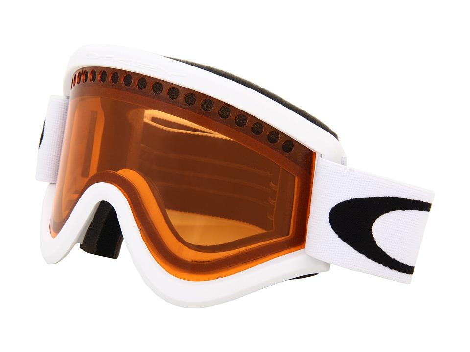 Oakley - E-Frame 12 (E-frame Snow matte white w/Persimmon) Snow Goggles