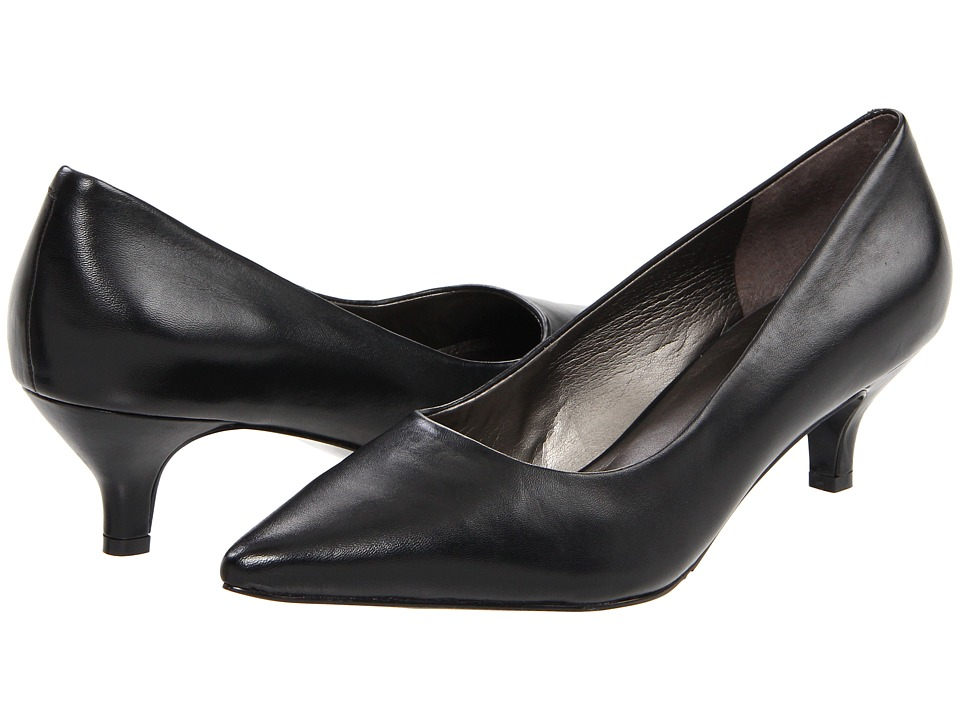 Trotters - Paulina (Black Soft Kid) Women's 1-2 inch heel Shoes