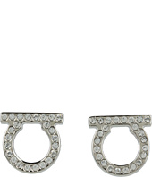 Salvatore Ferragamo - Gancini Crystal Earrings