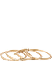 Jessica Simpson - Jessica Simpson Gold Thin Stackable Bangle Set