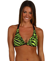 GUESS - Animal Frenzy Halter Bra