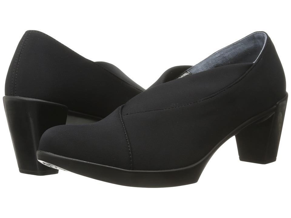 Naot Lucente (Black Stretch) High Heels