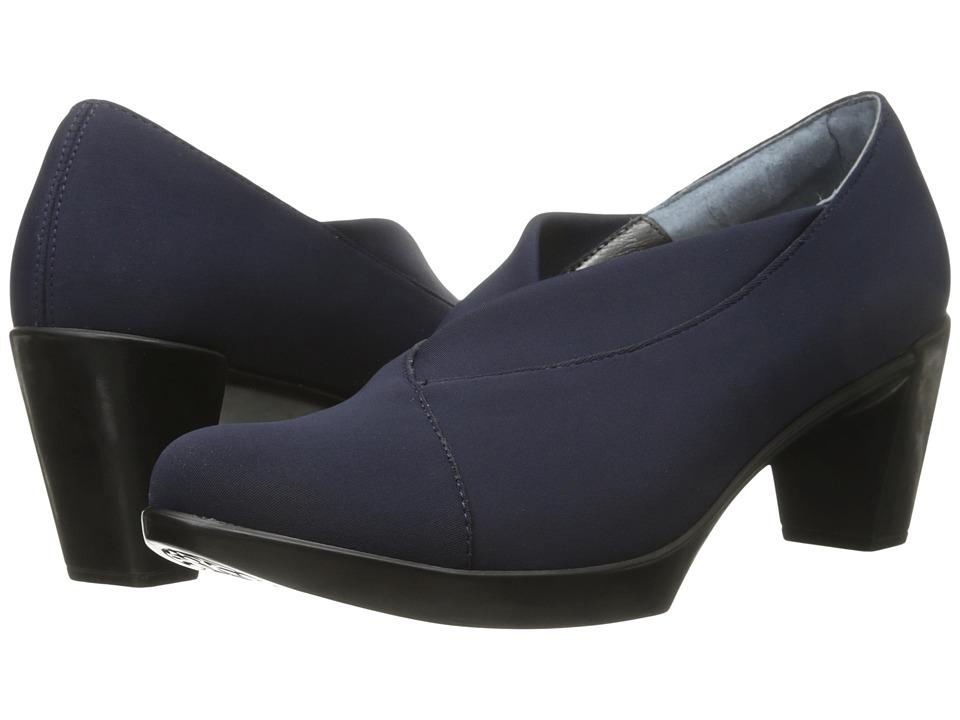 Naot Lucente (Navy Stretch) High Heels