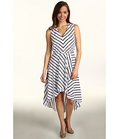 Kenneth Cole New York - Bold Stripe Print Dress