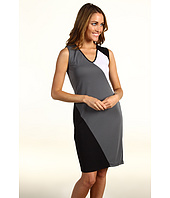 Kenneth Cole New York - V-Neck Dress W/Curved Seams