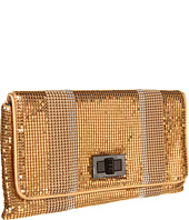 BCBGMAXAZRIA - Striped Mesh Clutch