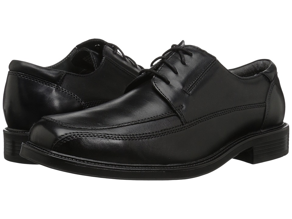 Dockers - Perspective Moc Toe Oxford (Black) Mens Lace Up Moc Toe Shoes