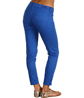 Buffalo David Bitton - Lisa Ankle Skinny Colored Sateen Denim in Azure Blue