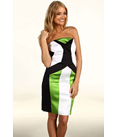 Jax - Color Block Satin Dress