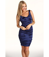 Jax - Gathered Satin Dress