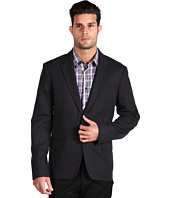 Michael Kors - Flannel Slim Jacket with Elbow Patches