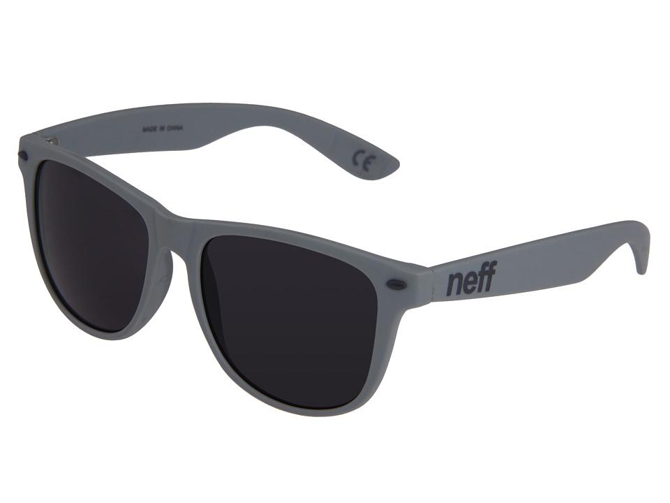 Neff Daily Shades Matte Grey Sport Sunglasses