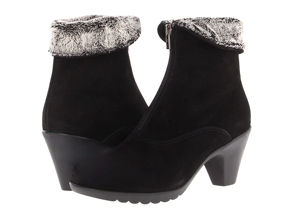 La Canadienne - Dublin (Black Suede/Cozy) Women