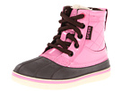 Crocs Kids - Allcast Duck Boot (Toddler/Youth) (Espresso/Pink Lemonade) - Footwear