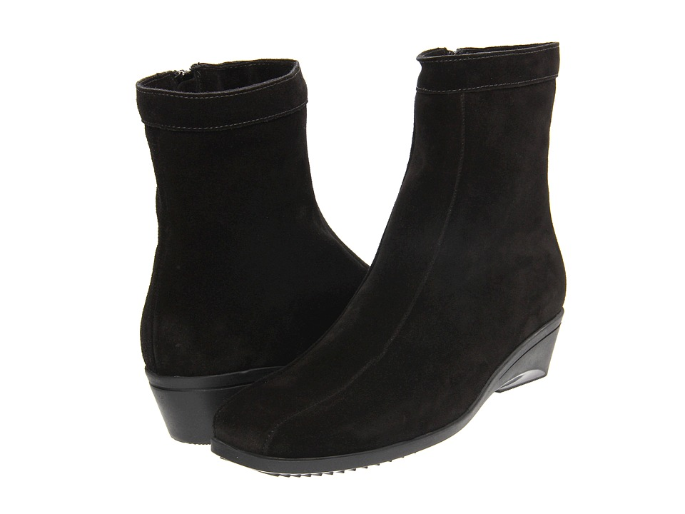 La Canadienne - Elizabeth (Black Suede) Women